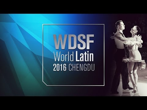 2016 World Latin Chengdu | Walk of Fame | DanceSport Total