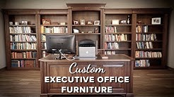 Make a Statement, with Solid Wood Executive Office Furniture