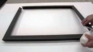 Oversized Wood Canvas Floater Picture Frame: How To Assemble - American Frame