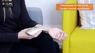 B-Cure Laser : Treatment of the wrist , Carpal Tunnel Syndrome