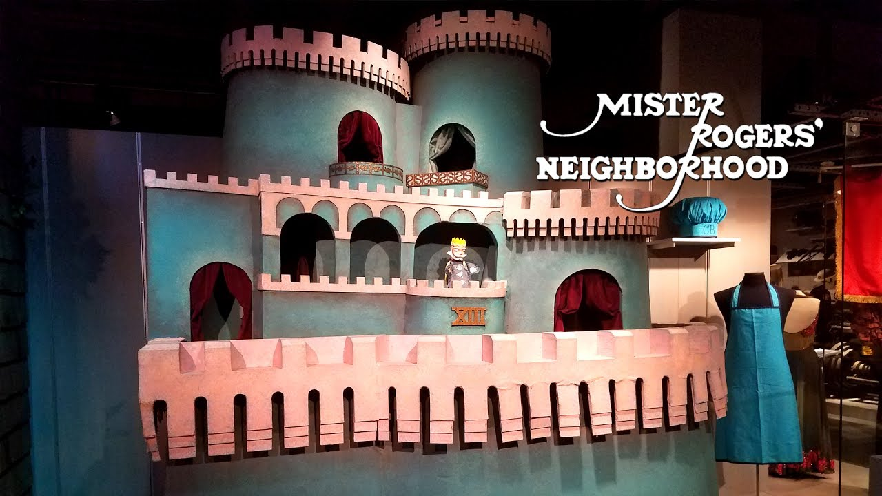 Mister Rogers Neighborhood Exploring The Set Youtube