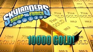 Skylanders Swap Force - 10000 GOLD with the Tower of Time pack!