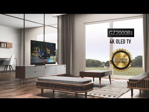 Panasonic GZ2000 4K OLED TV - YouTube