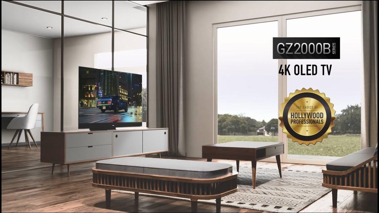 Panasonic GZ2000 4K OLED TV