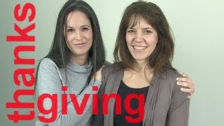 American English Imitation Exercise:  Thanksgiving!