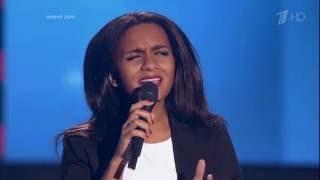 The Voice RU 2016 Aminata — «Я тебя не прощу никогда» Blind Auditions | Голос 5. Амината Савадого
