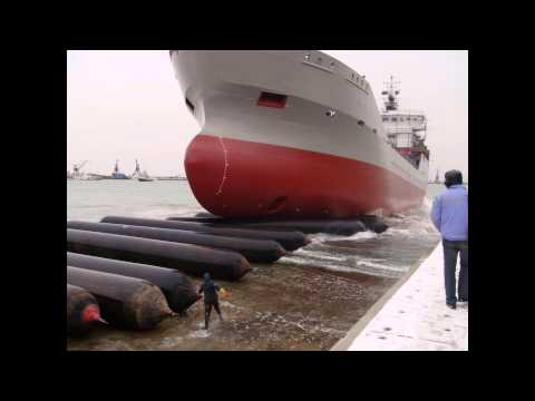 Marine Airbags for Ship Launching, Ship Dry Dock, Marine Salvage, Flotation & Heavy Lifting