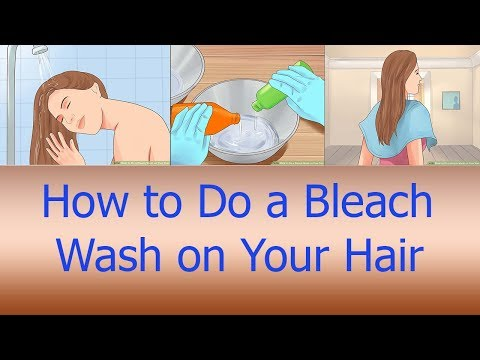 How To Do A Bleach Wash On Your Hair