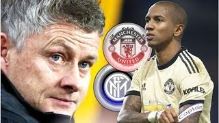 Ashley Young stormed out of Man Utd training to force imminent 15m Inter Milan transfer- transf