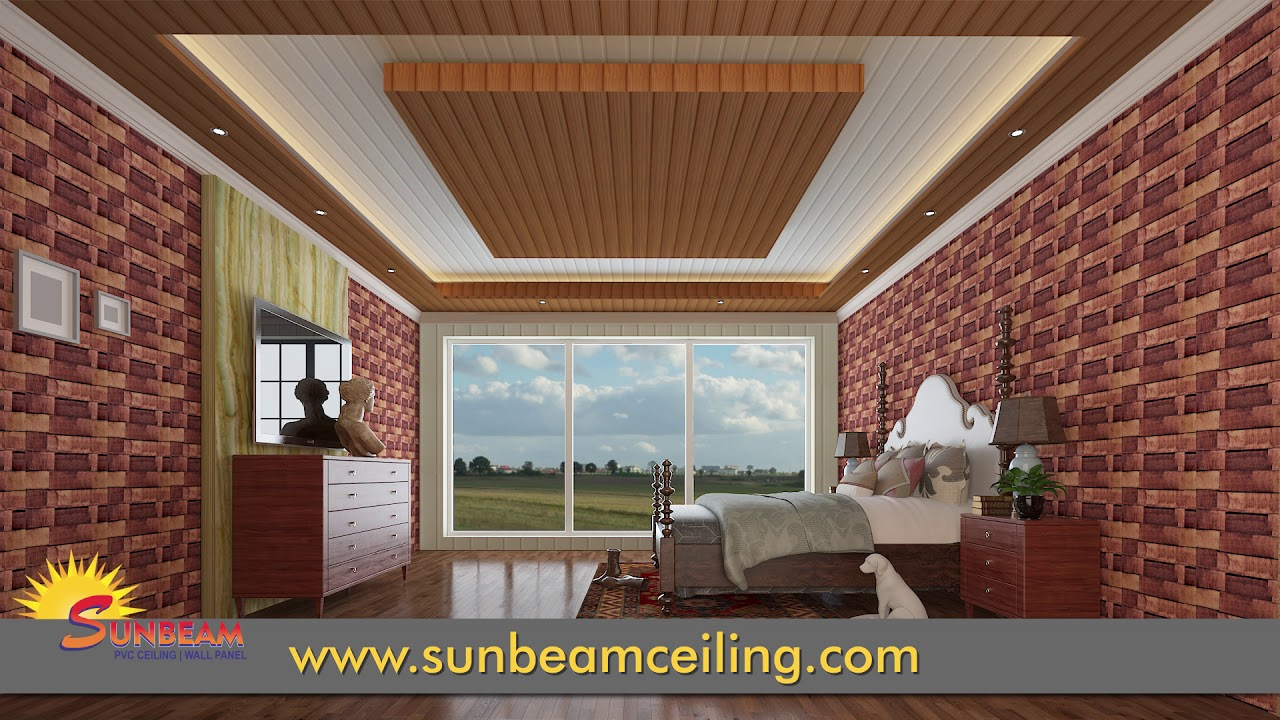 Pvc Ceiling Panels Installation India Youtube