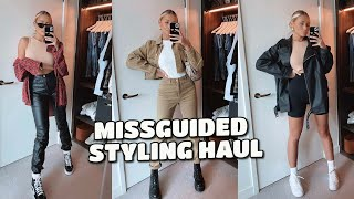 MISSGUIDED STYLING HAUL | CASUAL, EASY OUTFITS