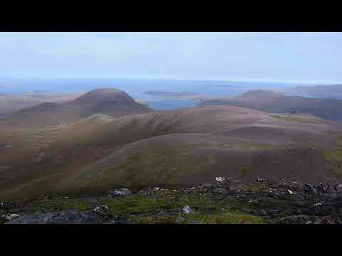 Magnificent view from the summit of Bidean a'Ghlas Thuill (An Teallach)