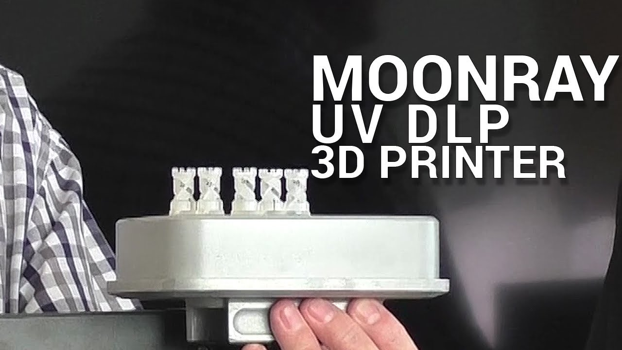 MoonRay - UV DLP 3D Printer