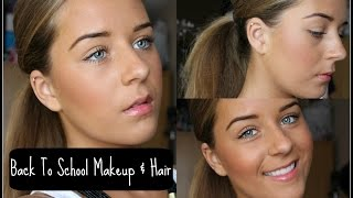 Back to School Makeup and Hair | Faobeauty Thumbnail