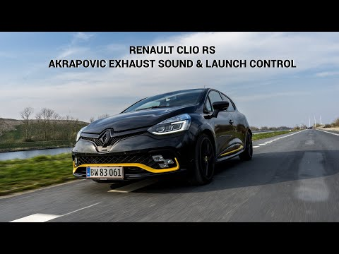 Renault Clio RS Exhaust Sound And Launch Control
