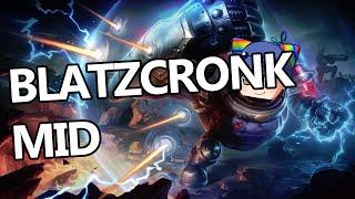League of Legends - Blitzcrank Mid - Full Game Commentary