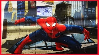 Spiderman Puzzle Games Rompecabezas Clementoni Daily Jigsaw Avengers Puzzle For Kids 30 Pieces