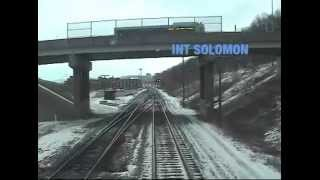 Amtrak Train 30 Cab Ride - Pittsburgh to Connellsville