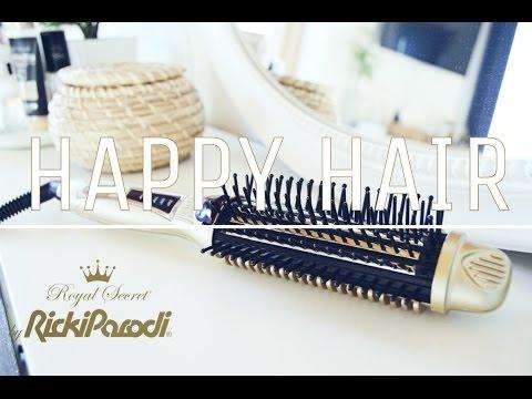 Review Happy Hair by Royal Secret/Ricki Parodi + Como faço ondas no meu cabelo