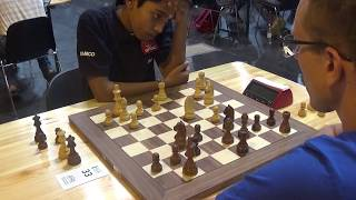 GM Praggnanandhaa Rameshbabu - Konstantins Gudovskis, Blitz chess