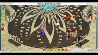 Танцы в аватарии под песню Sub Pielea Mea