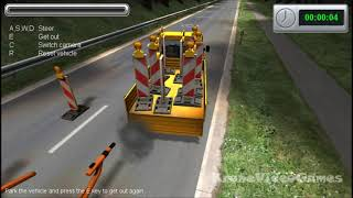 Road Construction Simulator Gameplay (PC/HD)