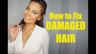 HOW TO REPAIR DAMAGED HAIR | OLAPLEX? | PRO TIPS! | Brittney Gray