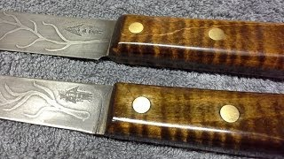 Staining Curly Maple For Great Looking Knives