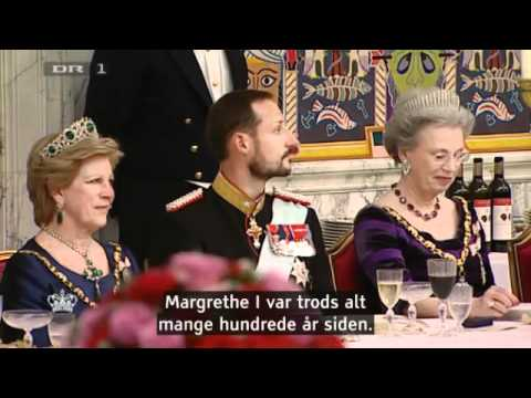2 Gala Banquet at Christiansborg - H.M.The Queen's 40th Jubilee as Reign (2012)