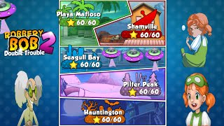 All levels Solution. Perfect ! Robbery Bob 2- Double Trouble. screenshot 3