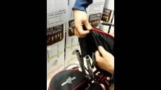 Как одеть накидку и ремни безопасности модели Lexus Trike VIP