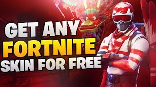 🛑Get Any Skin In Fortnite For Free ( Like Happy Power )