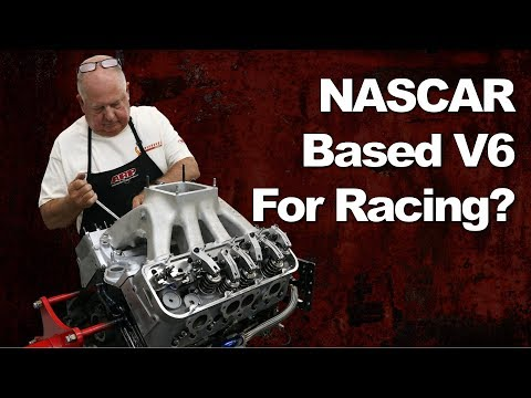 NASCAR Chevy SB2 V8 Turned Into a Racing V6!?