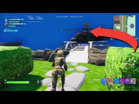 The 10 BEST Hiding Spots On Hide And Seek Mansion Fortnite Creative!