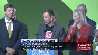 Shane Rattenbury - Global Climate Action Summit