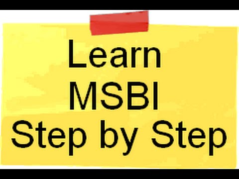 Learn SSIS,SSAS and SSRS ( MSBI ) Step by Step - YouTube
