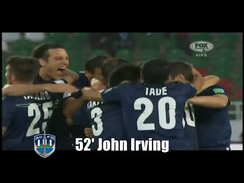 Gol John Irving - Es Sétif 0 Vs Auckland City 1 - Mundial de Clubes 2014