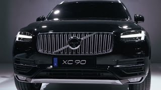 All New 2015 Volvo XC90 world premiere