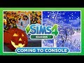 SEASONS & SPOOKY STUFF ARE COMING TO CONSOLE! ☔️❄️ — THE SIMS 4 NEWS & INFO