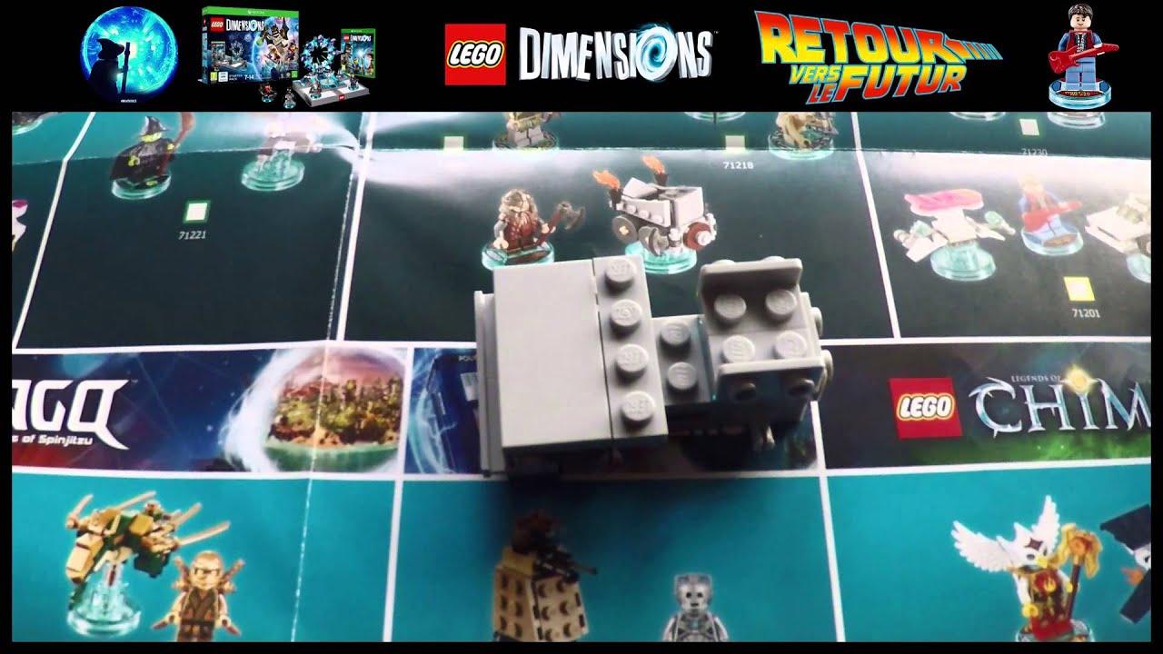 lego dimensions delorean instructions