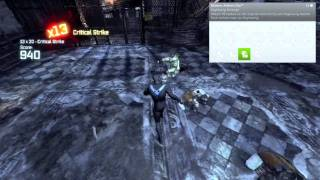 Batman: Arkham City: Nightwing Bundle Pack Gameplay Review by Barz