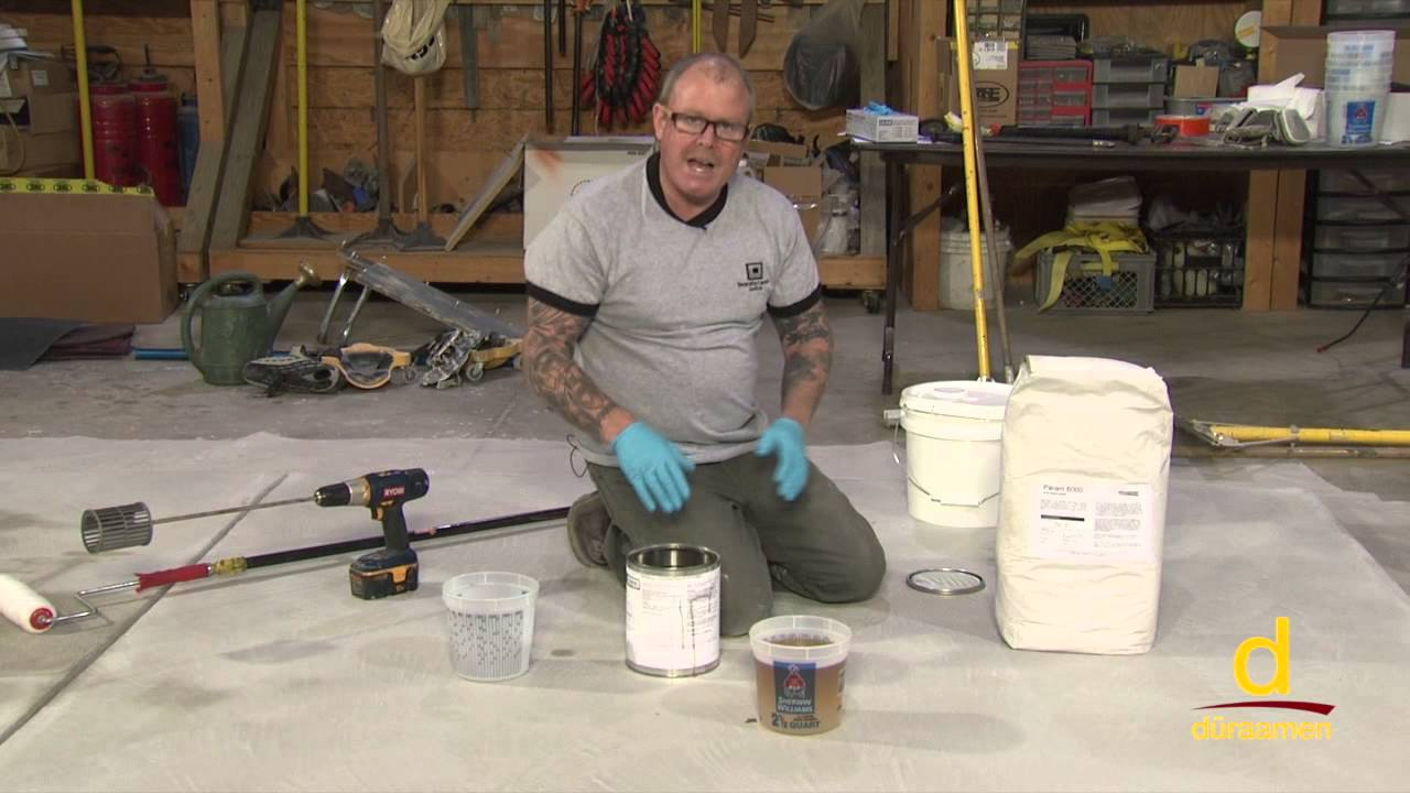 How to Polish Self Leveling Concrete - Part 1