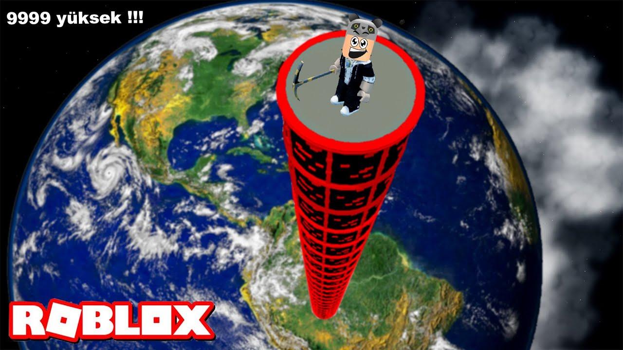 Dünyanın Dışına Çıktık!! En Uzun Kuleyi Yaptık - Panda ile Roblox Tower Master