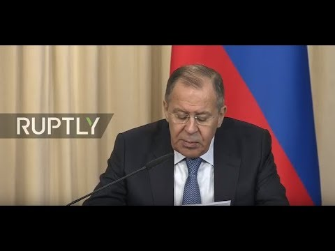 Live: Lavrov and FM of Tajikistan hold joint press conference in Moscow