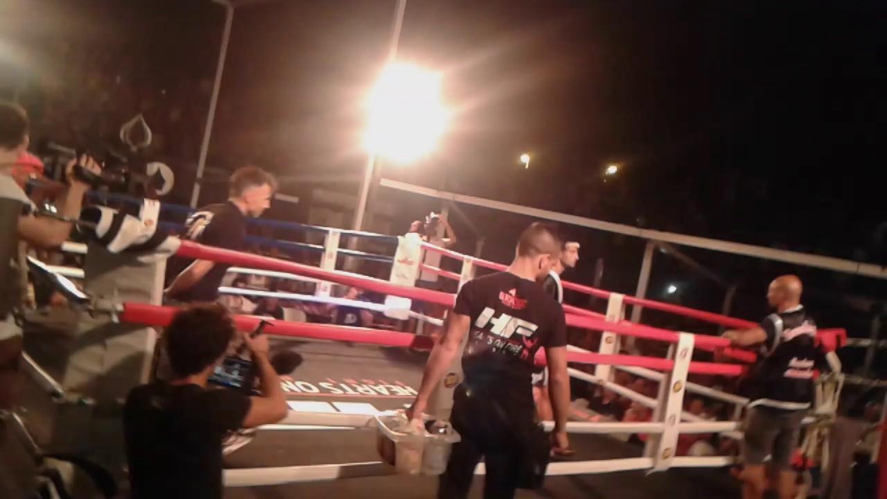 Andrea Serra Campione Mondiale Muay Thai - YouTube