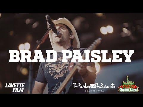 Brad Paisley – Konsertfilm – Grönan Live – 25/7 2017