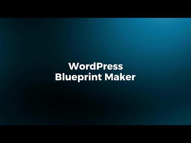 Cloudways WordPress Blueprint Maker: Put Together a Website Faster!