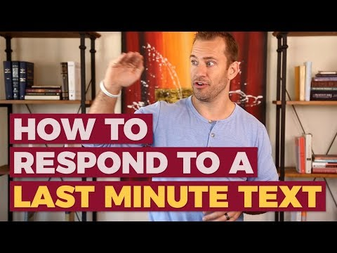 what-to-say-when-he-asks-you-out-last-minute-|-relationship-advice-for-women-by-mat-boggs