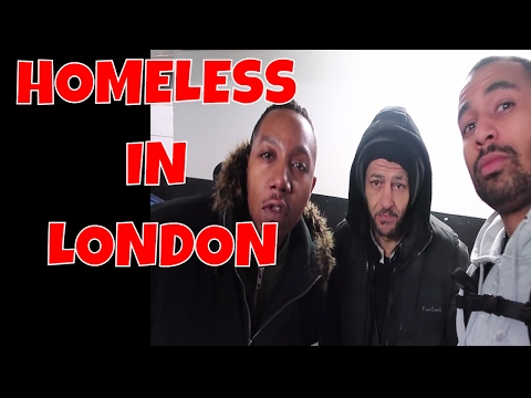 Homeless in London | Chicken burgers and Kebabs all round