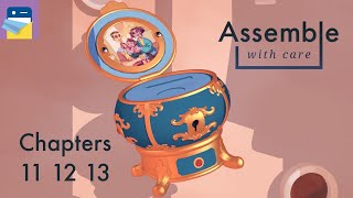 Assemble with Care: Chapters 11 12 13 Walkthrough Guide & Apple Arcade  Gameplay (by ustwo games)